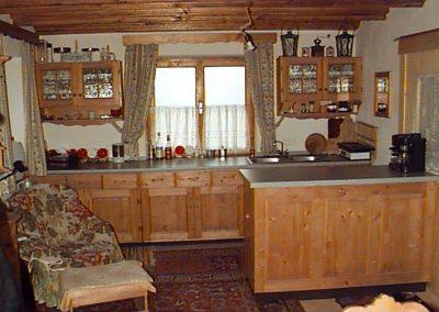 Die Küche in der Stubn