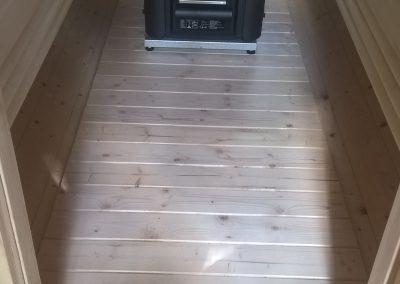 Der Sauna Ofen