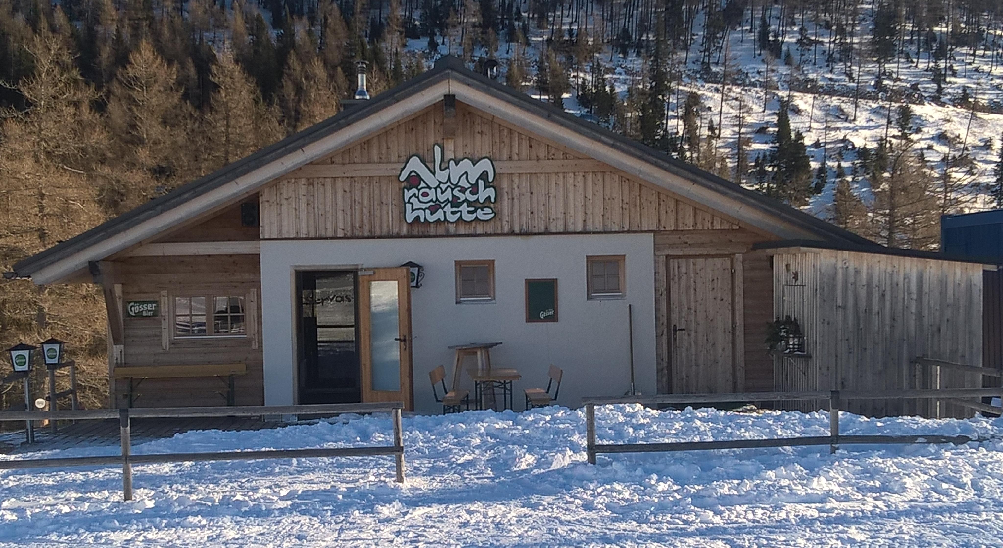 Die Almrauschhütte